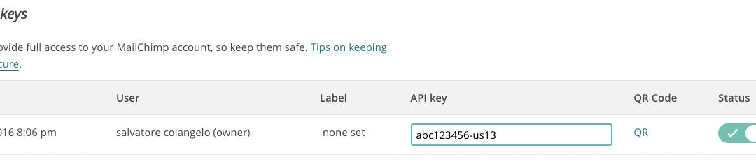 FileMaker integration with Mailchimp