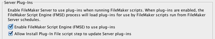 Updating Plugins in FileMaker Pro 12